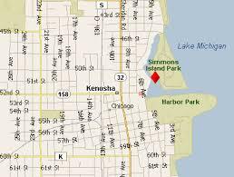 kenosha map our location in kenosha wisconsin hunters charters