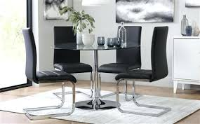 Dining Glass Table Sets Lovely Glass Dining Table And Chairs Room Furniture For Well Glass