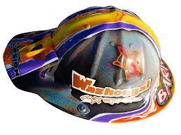 custom motocross helmet painting blowsion blowsion custom paint sports helmets