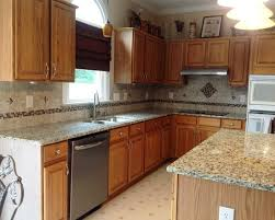 gorgeous kitchen design applied light wood in medium colored