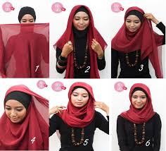 tutorials on how to wear hijab everyday hijabiworld