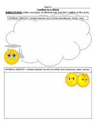 brilliant ideas of identifying conflict in a story worksheets also