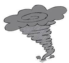 cloud clipart tornado pencil and in color cloud clipart tornado