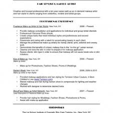 cosmetology resume examples templates samples pics resume sample