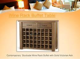 buffet table furniture idea