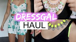 dress gal dressgal haul review 2015 try on