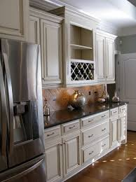 cream painted kitchen cabinets cream colored kitchen cabinets with brown glaze home design ideas