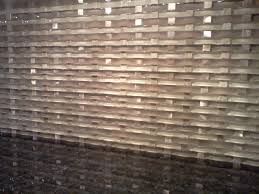 Glass Tile For Kitchen Backsplash Ideas by Kitchen Style Stunning Close Up Brown White Shade Of Mosaic Glass