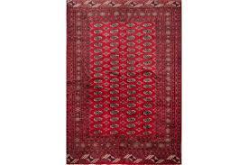 bukhara tappeto tappeto kashmir a disegno bukhara trama e ordito in cotone vello