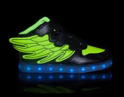 light up shoes that change colors minmai kids 2 tone super pegasus black green little kids led
