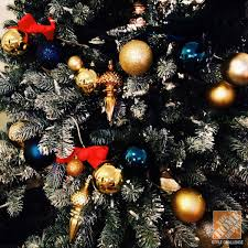 blue and gold decoration ideas christmas tree decorating ideas