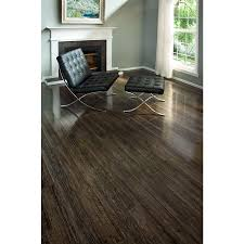 Polished Laminate Flooring Shop Tecsun Country Side 4 84 In W X 4 Ft L Barnwood Oak High