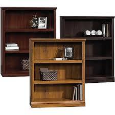 sauder bookcases 3 shelf staples