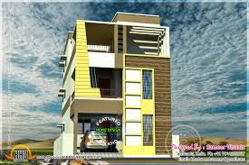 two flat roof tamilnadu style house designs kerala home design