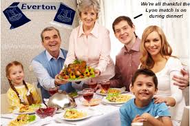 toffees mailbag thanksgiving meme special edition royal blue mersey