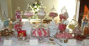 how to decorate a buffet table wedding candy sweet buffet table cart nottingham derby leeds