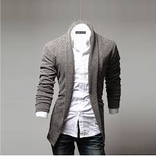 aliexpress com buy 2017 men u0027s fashion open shawl solid color