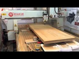 Cnc Wood Carving Machine Manufacturers In India by Cnc Wood Door Making Machine Youtube