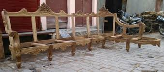wooden corner sofa set wooden corner sofa set 7 setar rs 78000 set mbk wood carving