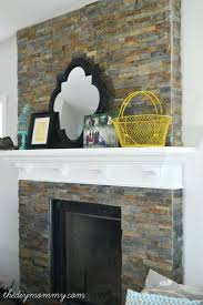 stacked stone veneer fireplace cost surround installing