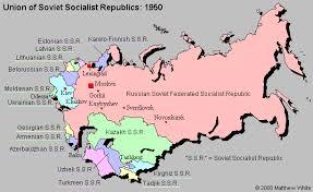former soviet union map map union of soviet socialist republics