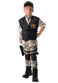 Boy Costumes Child Seal Team Costume
