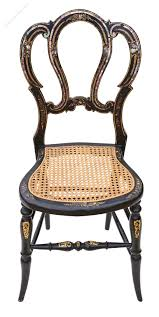 Old Fashioned Bedroom Chairs by Victorian Mother Of Pearl Cane Bedroom Chair Antiques Atlas