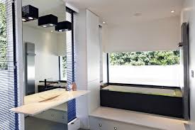 wall size bathroom mirror interior design ideas