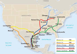 Mexico Toll Road Map by Mexico Manufacturing Myth Busting New Harbor Consultants