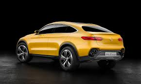 glc mercedes 2014 perfectly shaped the concept glc coupé by mercedes