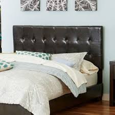 shop leather tufted headboard on wanelo