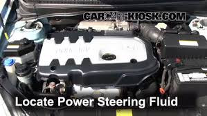 hyundai elantra power steering fluid check power steering level hyundai accent 2006 2011 2007