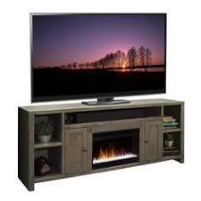 espresso tv stand with electric fireplace up to 60