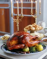roast turkey with quince glaze martha stewart living we brined