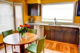 Professionally Painted Kitchen Cabinets by How To Refinish Kitchen Cabinets Painted With Gloss Enamel U2014 Decor