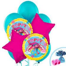 ballons in a box trolls balloons birthday in a box