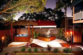 Small Tropical Backyard Ideas Patio Ideas Tropical Patio Outdoor Living Room Design Small