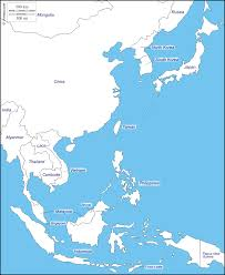 Blank Map Of The Asia by East Asia Free Map Free Blank Map Free Outline Map Free Base