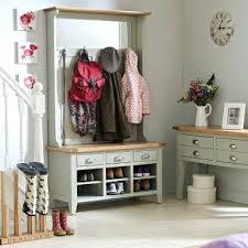 small bench with storage combined hallway shoe cupboard and coat