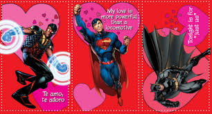 batman valentines the dc cards from new 52 s day