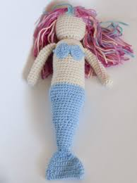 mermaid easter basket crochet mermaid what a sweet thing for a special girl