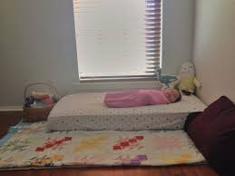 Montessori Floor Bed Frame Montessori Inspired Floor Bed The Things