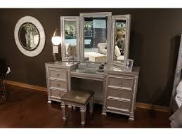 aico hollywood swank vanity bedroom tables d noblin furniture pearl and jackson ms