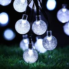 solar string lights n a christmas solar string lights globes review