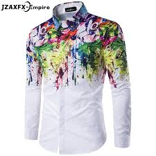 design hemd shop 2017 männer mode hemd muster design langarm farbe