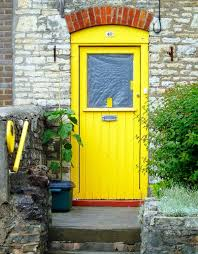 yellow front door make a dramatic first impression 15 painted front doors