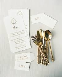 and white foil stamp calligraphy wedding invitations