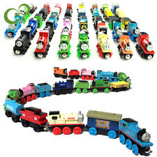 anime and his friends wooden toys trains model great
