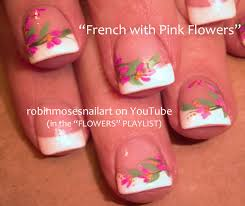 robin moses nail art cutest pink french manicure nails ever