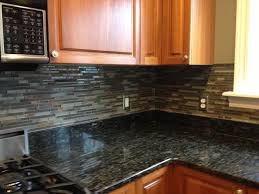 slate backsplash tiles for kitchen kitchen backsplashglass tile and slate mix kitchen backsplash